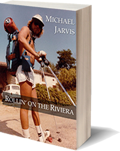 Rollin on the Riviera book cover concept